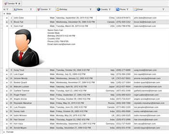WPF Grid Control, WPF Data Grid Component | Nevron