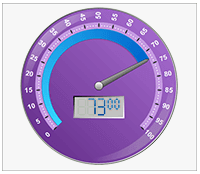 dot net round gauge