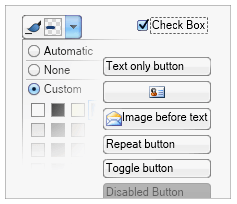 Cross platform buttons