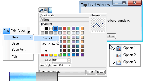 WPF Controls & Components | Nevron