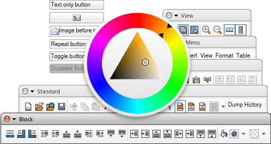 Free  NET WinForms UI Controls, User Interface Components for