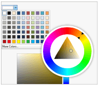 Nevron ui widgets color pickers
