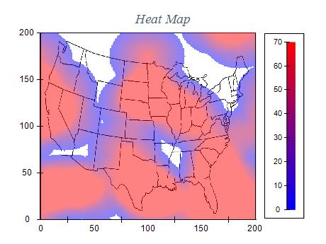 WinForms Heat Map Chart Control Gallery Nevron - Mapchart
