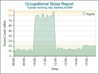 Occupational Noise Report