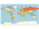 Map miller cylindrical projection