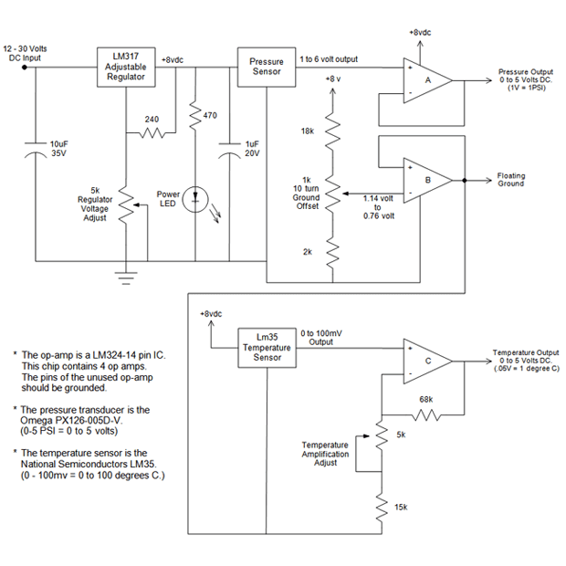 Electrical scheme diagram