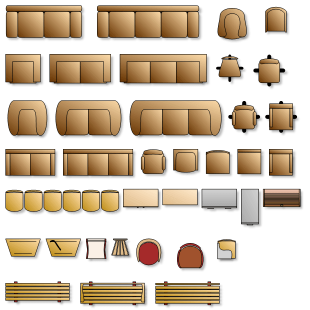 Diagram floor plan shapes 2