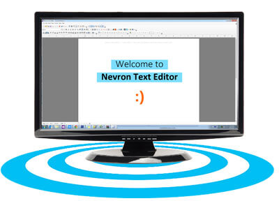 Nevron text editor desktop