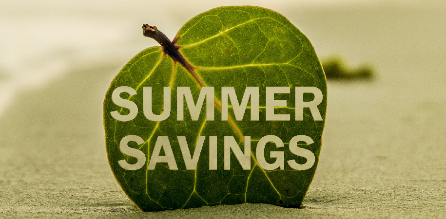 Summer Savings News Banner