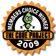 Code project members choice 2009