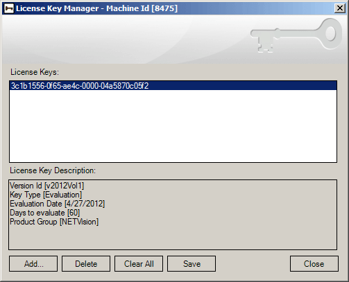 License Key Manager