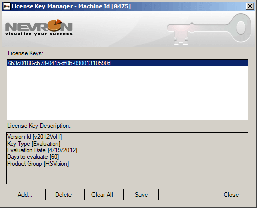 License Key Manager 1