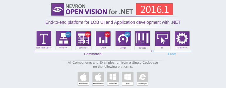 Nevron Vision for .NET 2016.1