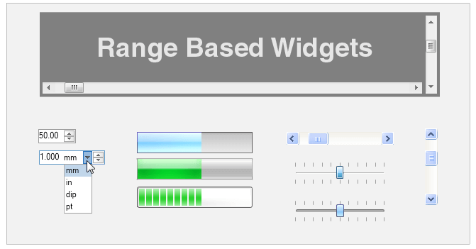 Free  NET WinForms UI Controls, User Interface Components
