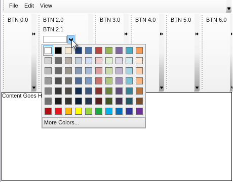 command bars color picker